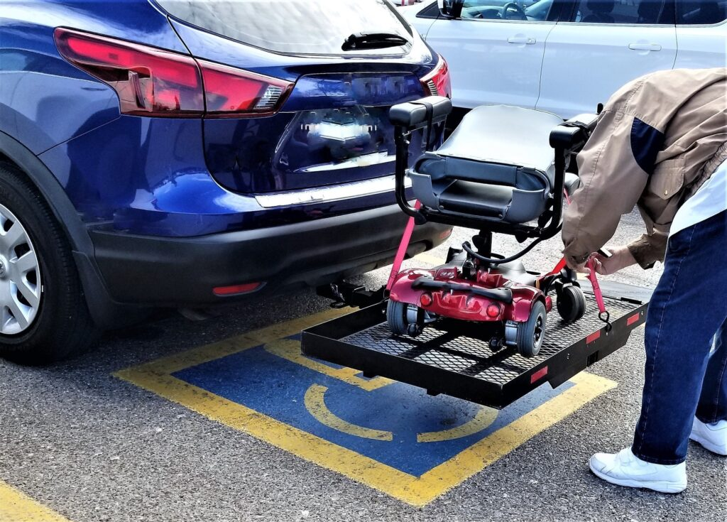 MOBILITY! Disability is a thing of the past when disabled or handicapped people use electric